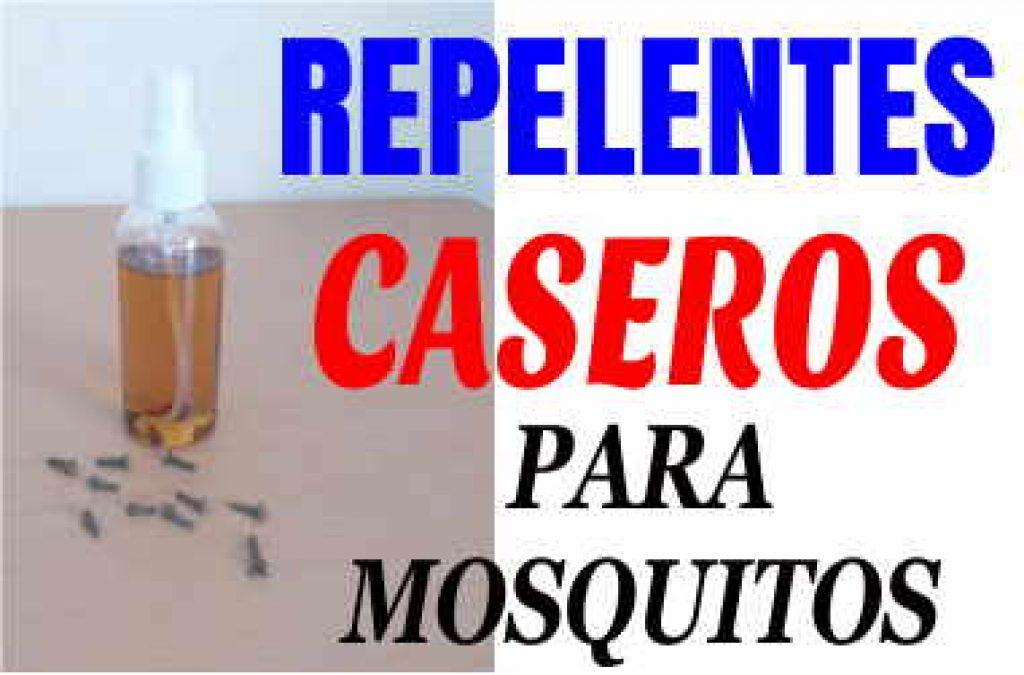 Repelentes caseros para mosquitos