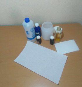 Toallitas desinfectantes caseras