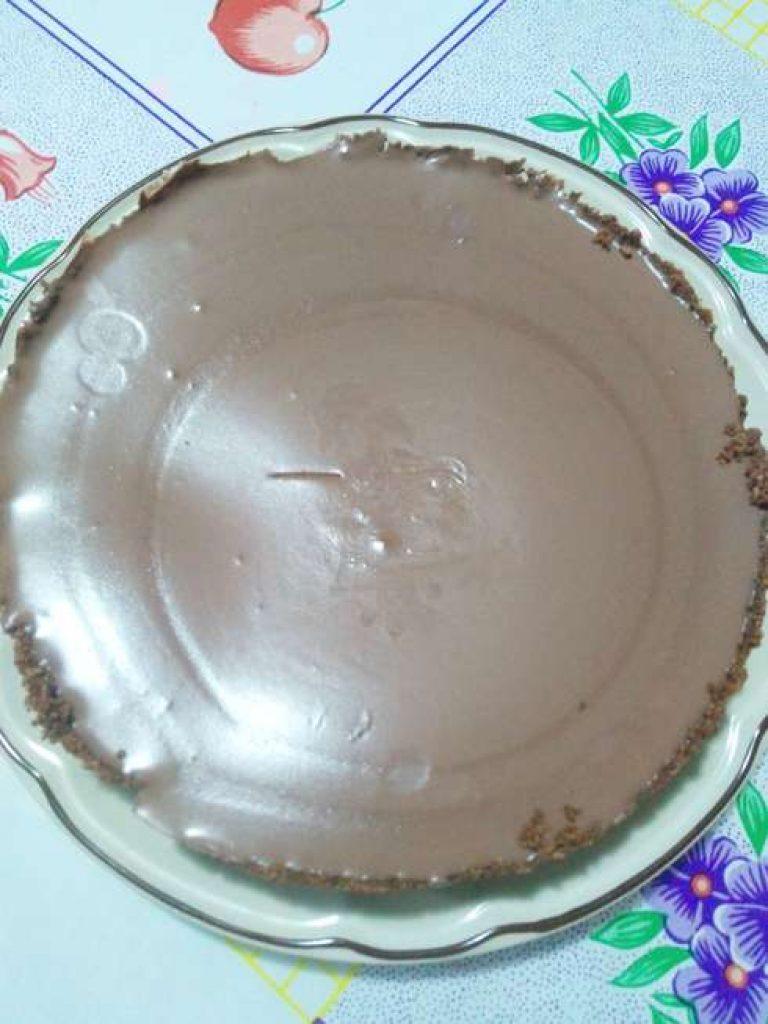 Cheese cake de chocolate listo para disfrutar