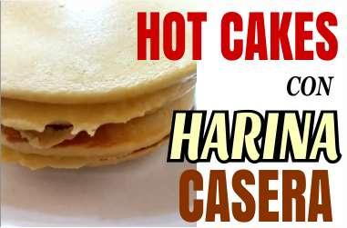 Tutorial para preparar harina casera para hot cakes esponjosos