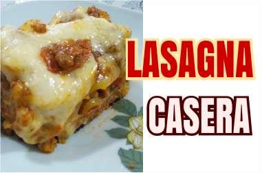 Tutorial para hacer una lasagna de carne en casa