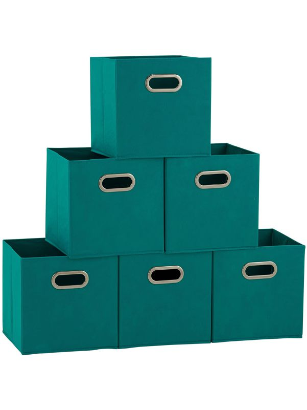 Cajas organizadoras plegables aqua