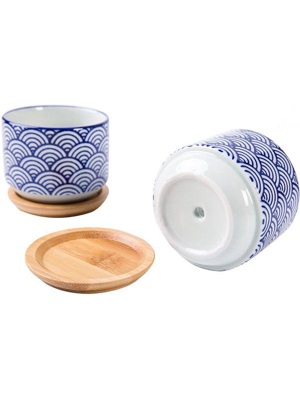 Macetas chicas de ceramica