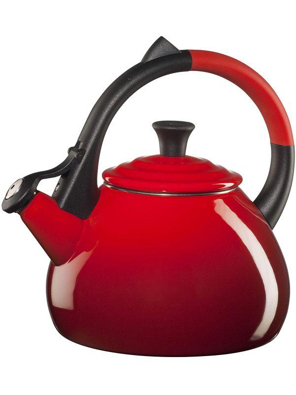 Tetera roja acero esmaltado