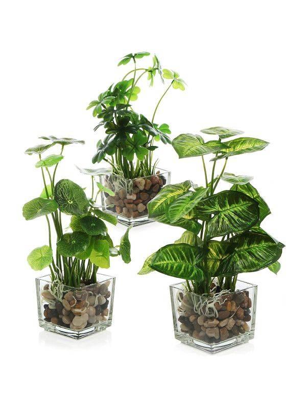 Vegetacion artificial decorativa