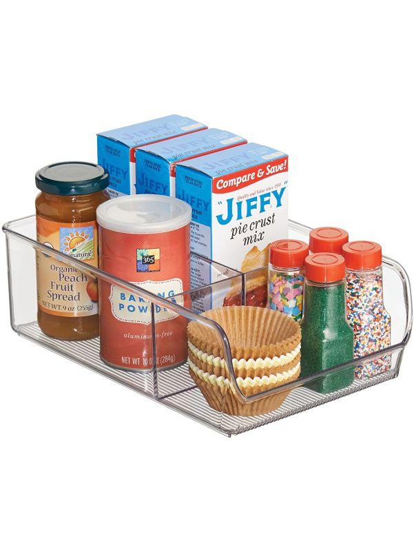Caja para organizar suministros de repostería