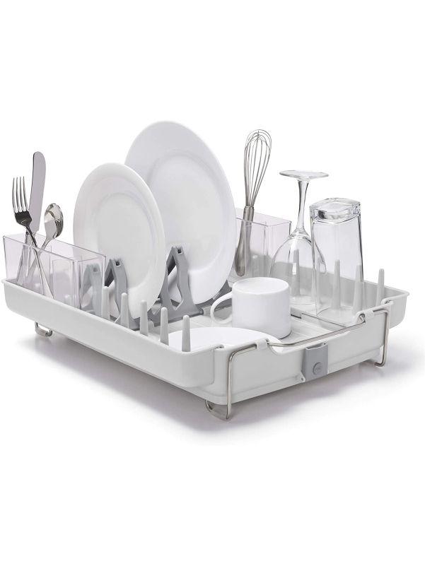 Escurridor de platos plegable