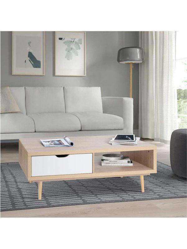 Mesa minimalista para sala