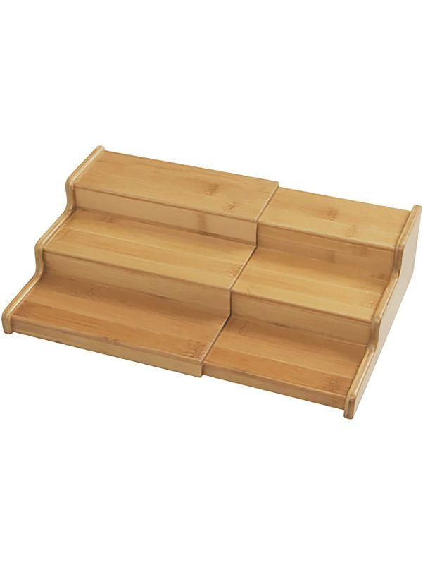 Organizador expandible de bambú