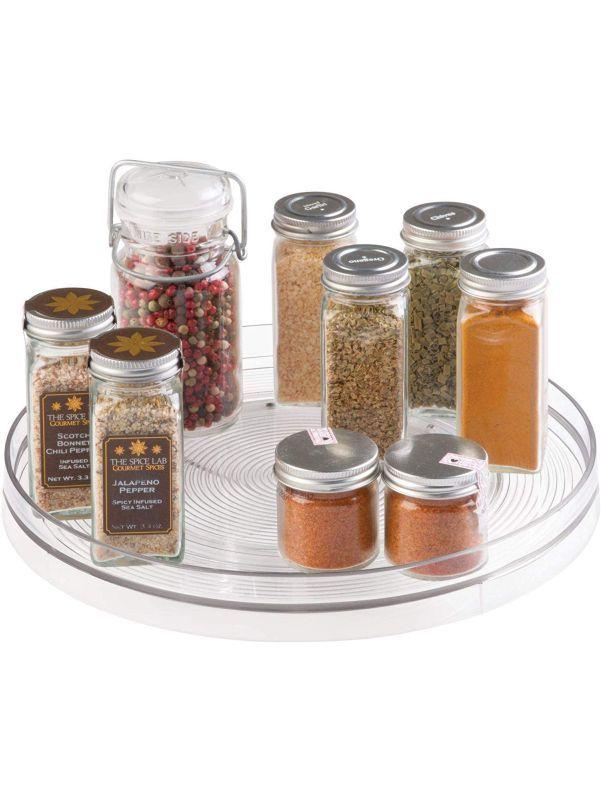 Organizador giratorio para especias y condimentos