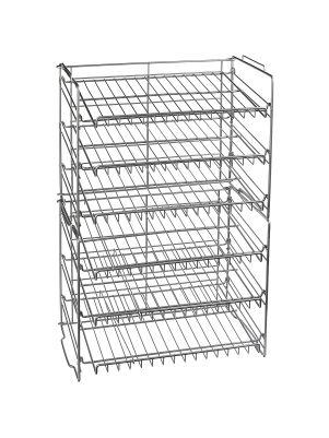 Organizador de seis niveles para latas de comida
